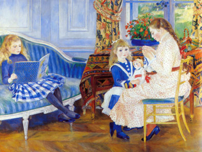 Pierre-Auguste Renoir Children in the afternoon in Wargemont