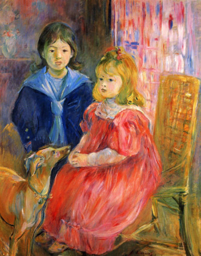Berthe Morisot Children of Gabriel Thomas