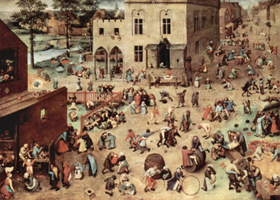 Pieter Bruegel Child's play