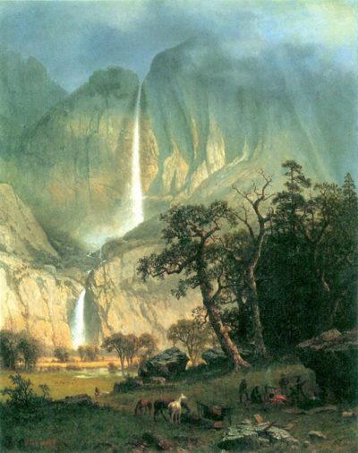 Albert Bierstadt Cho-Looke