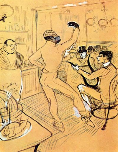 Henri de Toulouse-Lautrec Chocolat dance