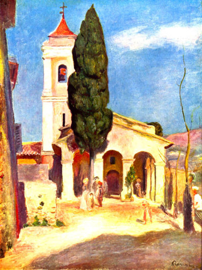 Pierre-Auguste Renoir Church in Cagnes