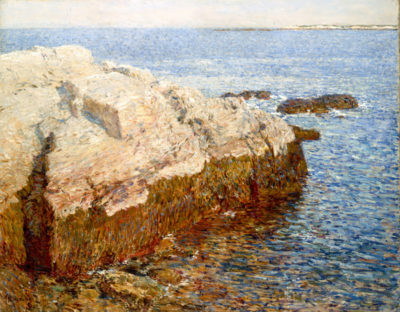 Childe Hassam Cliff Rock - Appledore
