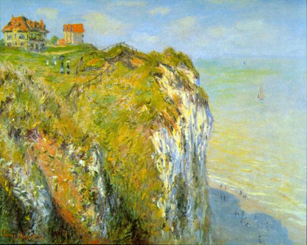 Claude Monet Cliffs