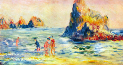 Pierre-Auguste Renoir Cliffs at Guernsey