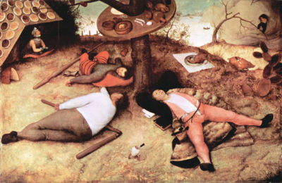 Pieter Bruegel Cockaigne