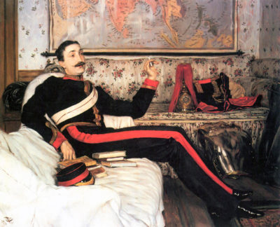 James Tissot Colonel Frederick Gustavus Burnaby