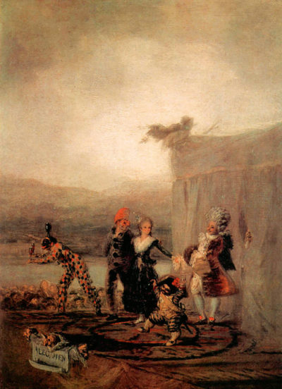 Francisco Goya Comicos Ambulantes