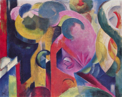 Franz Marc Composition III