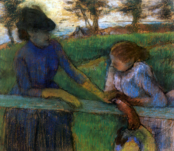 Edgar Degas Conversation