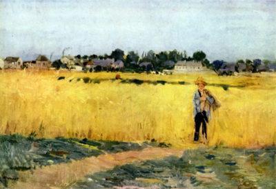 Berthe Morisot Cornfield