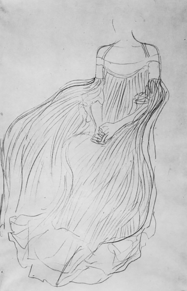 Gustav Klimt Costume study