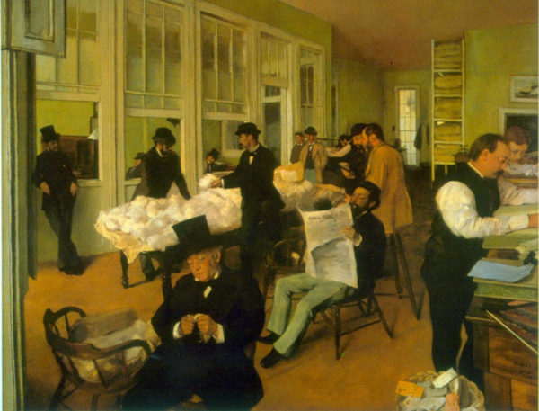 Edgar Degas Cotton Exchange