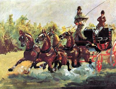 Henri de Toulouse-Lautrec Count Alphonse de Toulouse-Lautrec