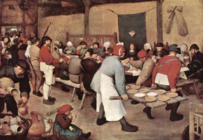 Pieter Bruegel Country wedding