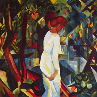 August Macke Couple in the forest