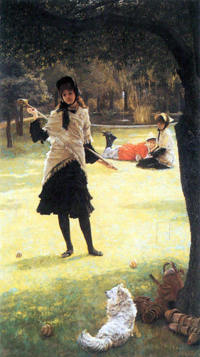 James Tissot Cricket