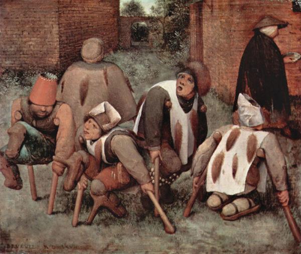 Pieter Bruegel Cripples