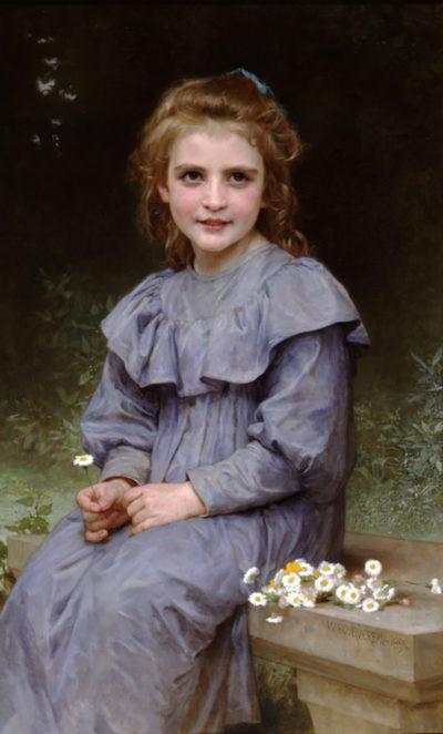William-Adolphe Bouguereau Daisies