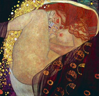 Gustav Klimt Danae