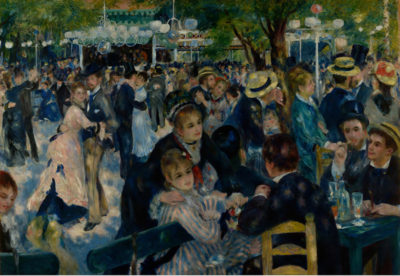 Pierre-Auguste Renoir Dance at le Moulin de la Galette