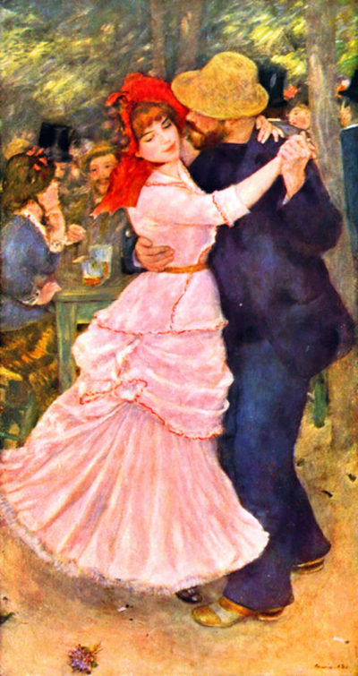 Pierre-Auguste Renoir Dance in Bougival