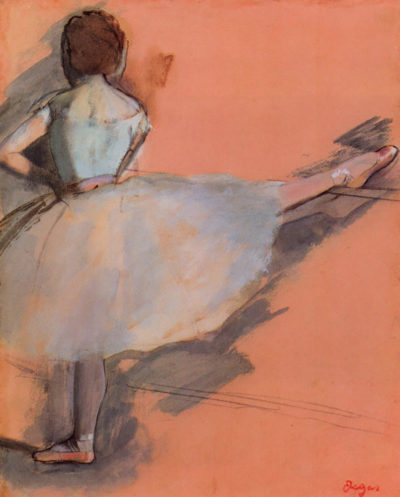 Edgar Degas Dancer at the bar