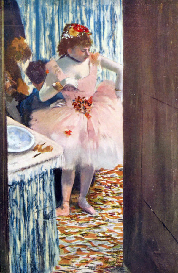 Edgar Degas Dancer in the Loge