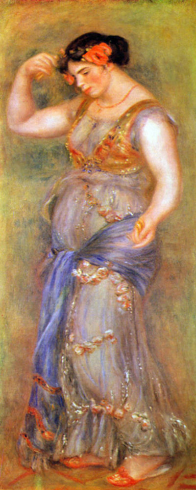 Pierre-Auguste Renoir Dancer with castanets