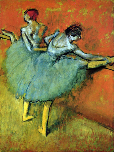 Edgar Degas Dancers at the bar