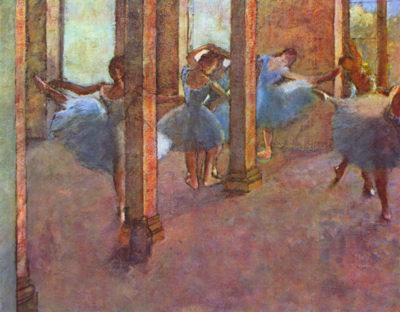 Edgar Degas Dancers in the Foyer