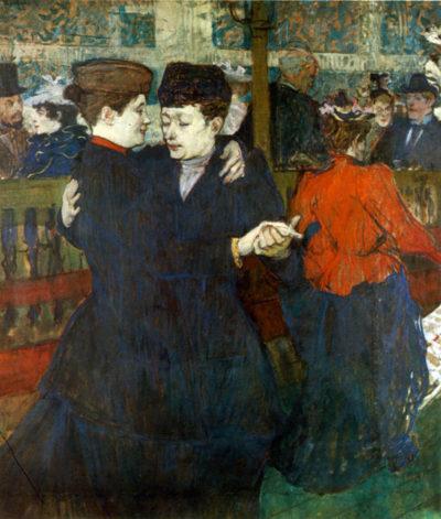 Henri de Toulouse-Lautrec Dancing a Valse