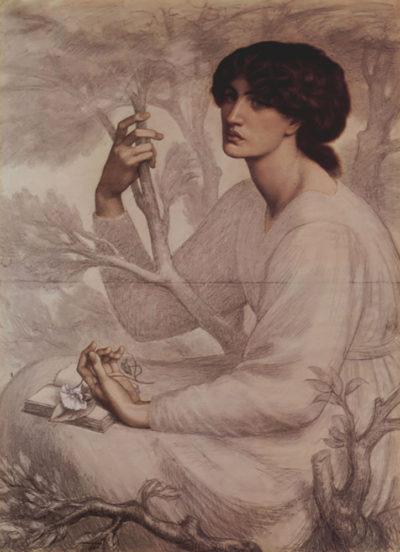 Dante Gabriel Rossetti Daydream