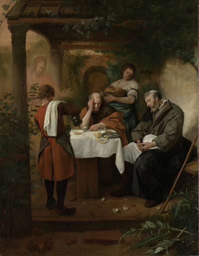 Jan Havicksz. Steen Supper at Emmaus