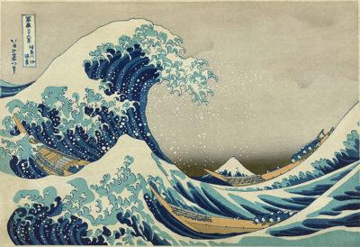 Katsushika Hokusai The Underwave off Kanagawa