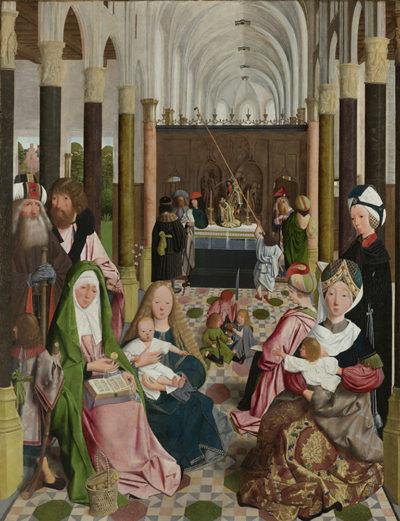 Geertgen tot Sint Jans (atelier van) The Holy Kinship