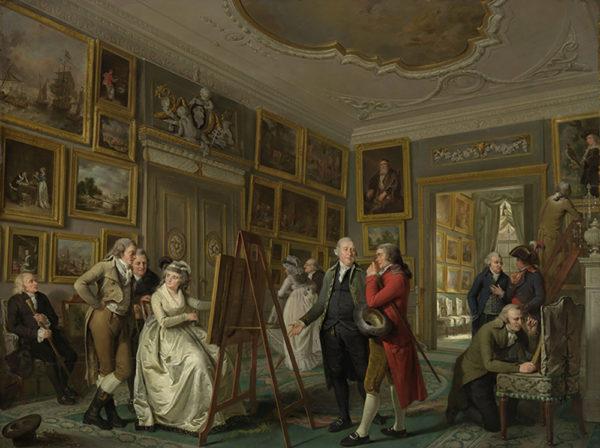 Adriaan de Lelie The Art Gallery of Jan Gildemeester Jansz
