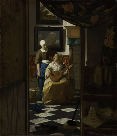 Johannes Vermeer The Love Letter