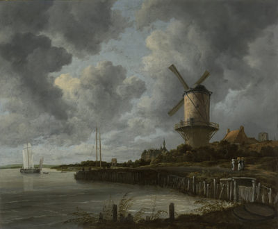 Jacob Isaacksz. van Ruisdael The Windmill at Wijk bij Duurstede