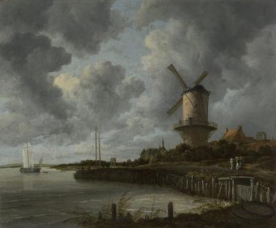 Jacob Isaacksz. van Ruisdael The Windmill at Wijk bij Duurstede