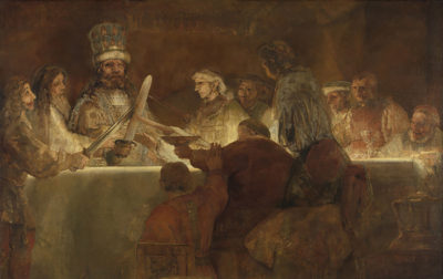 Rembrandt Harmensz. van Rijn The Conspiracy of the Batavians under Claudius Civilis