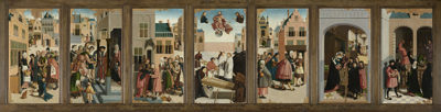 Meester van Alkmaar The Seven Works of Mercy