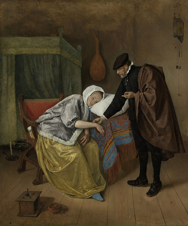 Jan Havicksz. Steen The Sick Woman