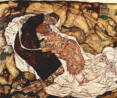 Egon Schiele Death and the Woman