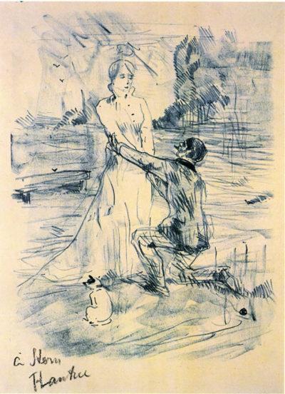 Henri de Toulouse-Lautrec Declaration