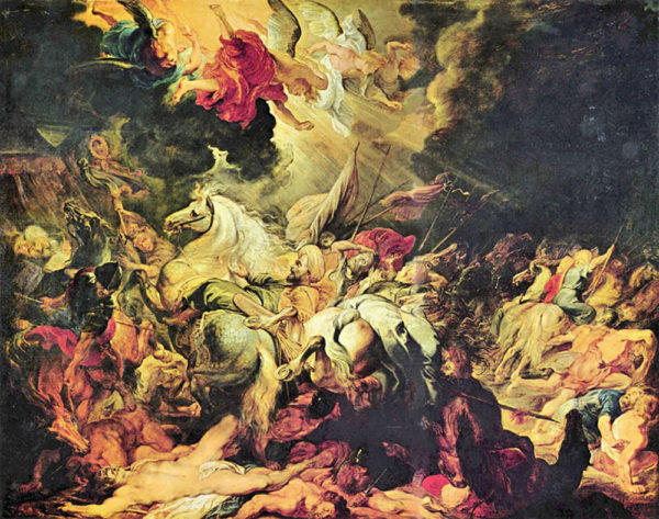Peter Paul Rubens Defeat Sanheribs