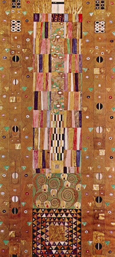 Gustav Klimt Design for the Stocletfries
