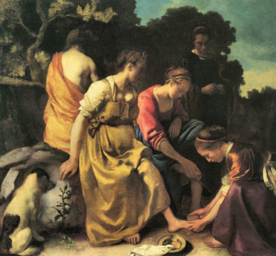 Johannes Vermeer Diana and her nymphs