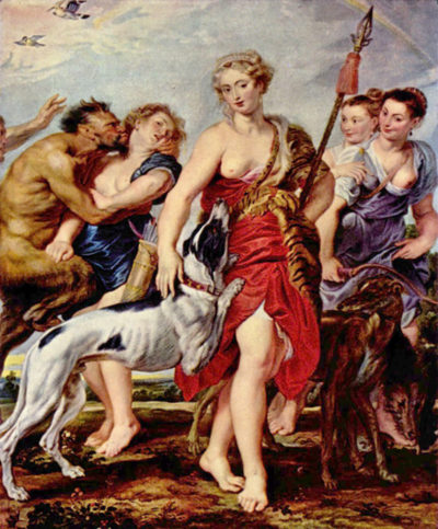 Peter Paul Rubens Diana with nymphs