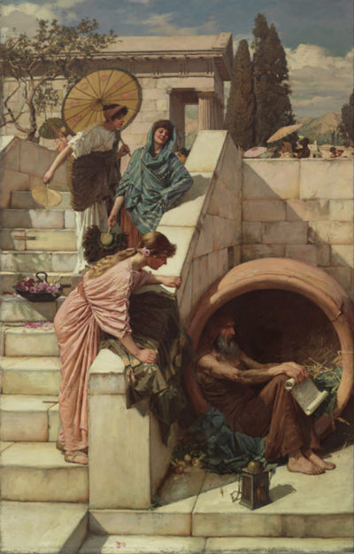 John William Waterhouse Diogenes